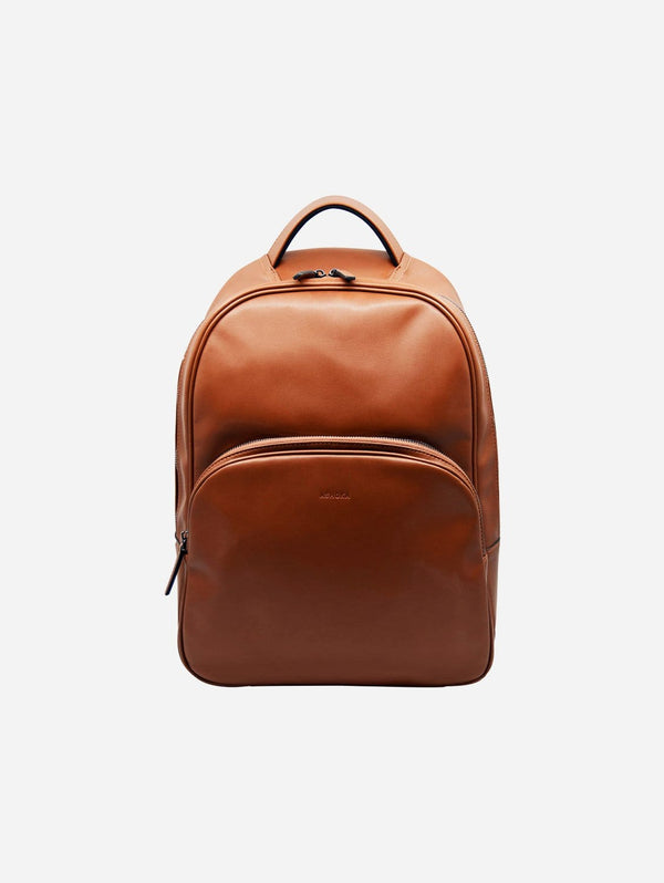 ASHOKA Paris Raphaël Vegan Leather Backpack | Camel