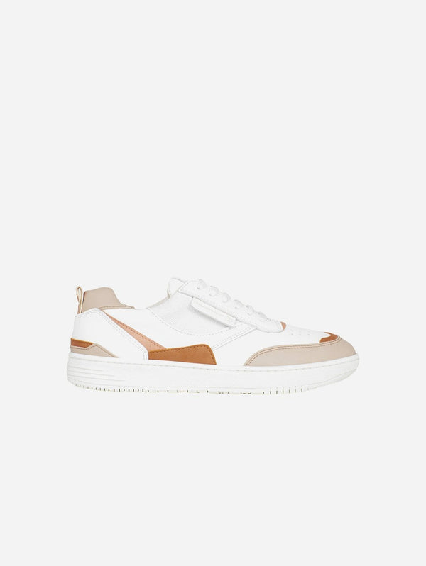 BEFLAMBOYANT UX-68 Vegan Leather Trainers | Sand