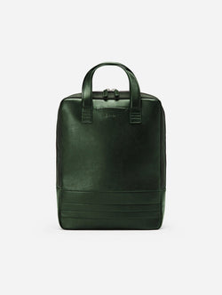 BOITA Vegan Leather Backpack/Briefcase | Limited Edition Olive