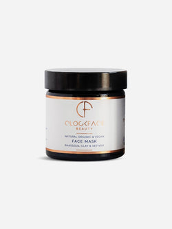 Clockface Beauty Face Mask - Rhassoul Clay and Vetiver 60ml