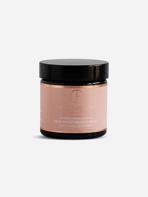 Clockface Beauty Face Moisturising Balm - Clary Sage & Juniper Berry 60ml