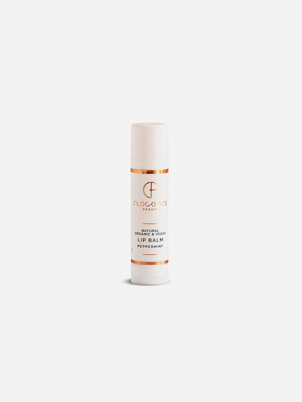 Clockface Beauty Lip Balm - Peppermint 5ml