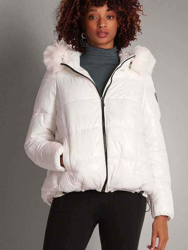 CULTHREAD Elgin Thermore Ecodown™ Padded Vegan Puffer Jacket | White
