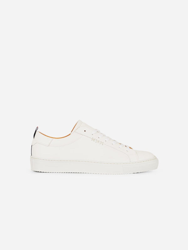 Gentleberg Dirk Vegan Leather Trainer | White