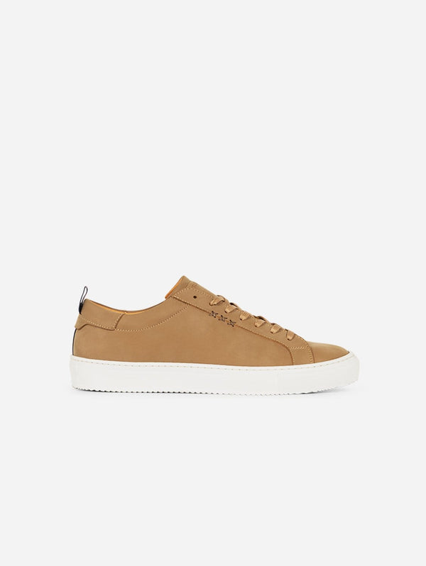 Gentleberg Govert Vegan Nubuck Leather Trainer | Sand