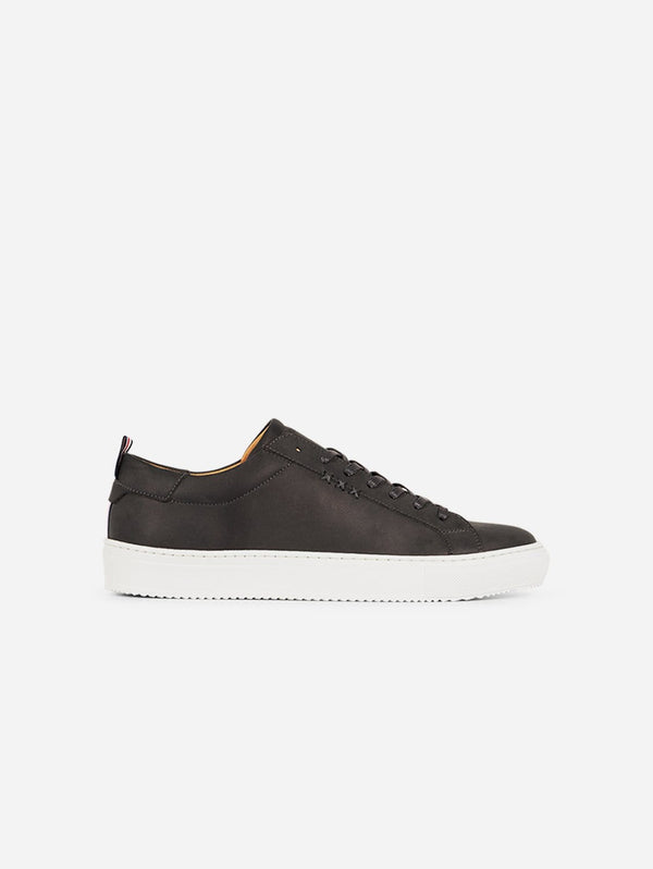 Gentleberg Wouter Vegan Nubuck Leather Trainer | Grey