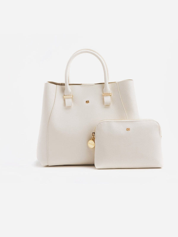 GUNAS New York Jane Vegan Leather Satchel | Off-White Off-White