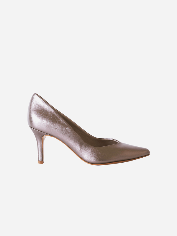 GURU mtp Panther Metallic Vegan Leather Pump | Metallic