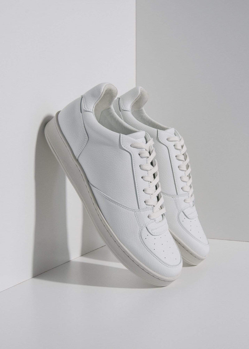 Humans Are Vain Eden V2 Sustainable Vegan Leather Trainer | White