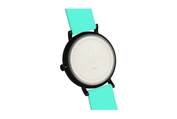Ksana Turquoise Vegan Strap Watch | 30mm 30mm Face - Small