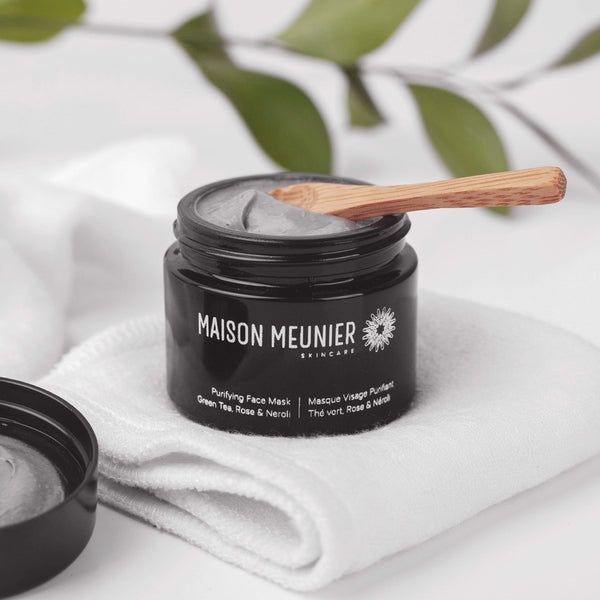 Maison Meunier Purifying Face Mask | Green Tea, Rose & Neroli 50ml