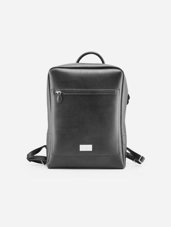 NOAH - Italian Vegan Shoes Arezzo Vegan Leather Backpack | Black