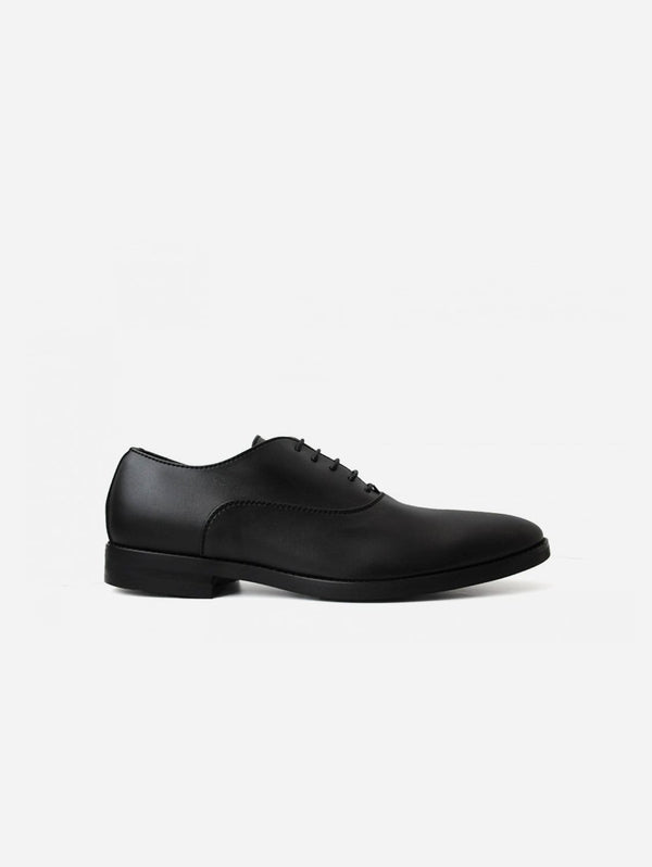 NOAH - Italian Vegan Shoes Damiano Vegan Nappa Leather Oxfords | Black