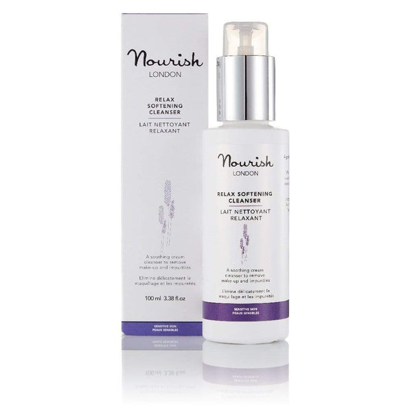 Nourish London Relax Softening Gentle Cleanser | Sensitive Skin 100ml 100 ml