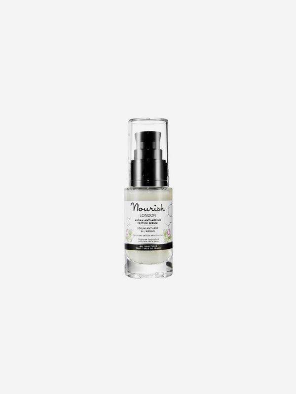 Nourish London Argan & Kale Extract Anti-Ageing Peptide Serum | 30ml 30 ml