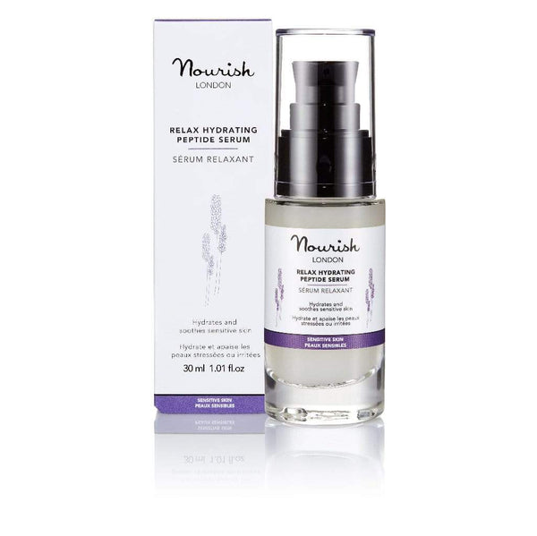 Nourish London Relax Hydrating & Soothing Peptide Serum | 30ml 30 ml