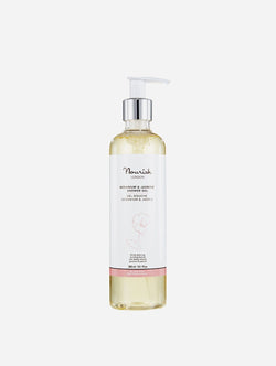 Nourish London Antioxidant-Rich Shower Gel | Geranium & Jasmine 300ml 300 ml