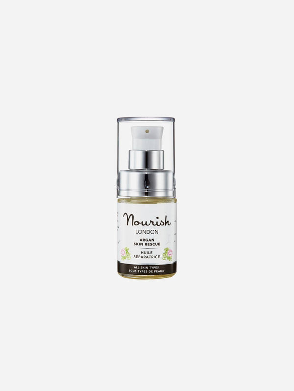 Nourish London Argan Anti-Ageing Skin Rescue Facial Treatment | 15ml