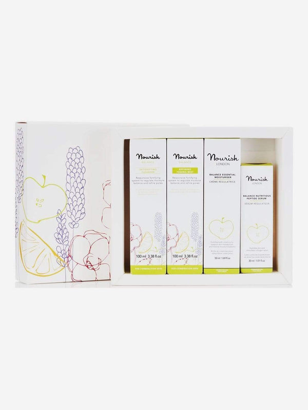Nourish London Balance Vegan Facial Gift Set | Combination Skin