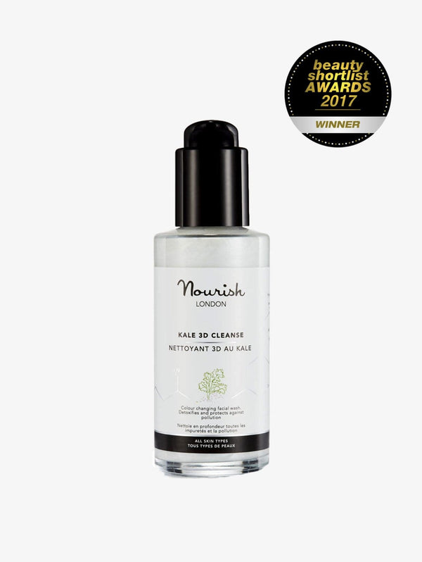 Nourish London Detoxifying Kale Extract 3D Cleanser | 30-100ml