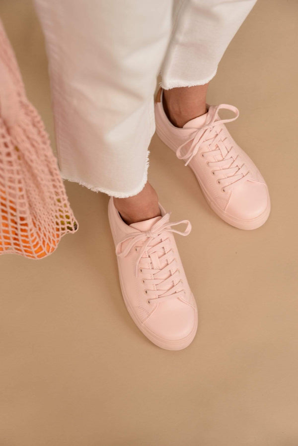 Ration.L R-Kind Unisex Vegan Leather Trainer | Jupiter Pink