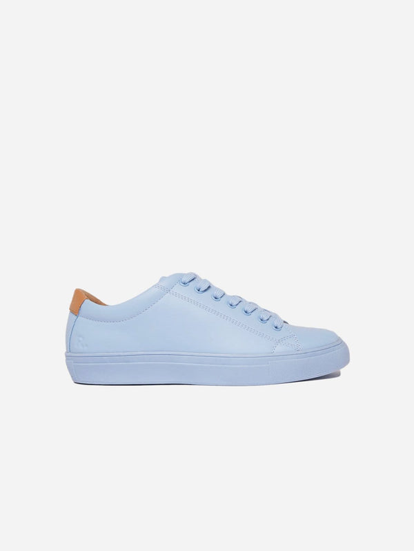 Ration.L R-Kind Unisex Vegan Leather Trainer | Neptune Blue