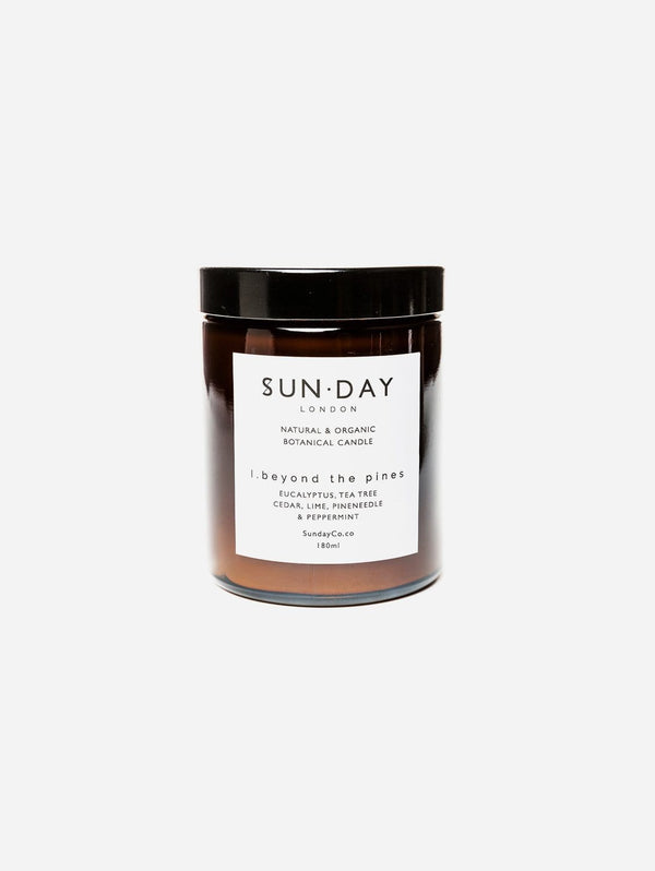 Sun.day of London Luxury Vegan Candle | Beyond the Pines 180ml Midi - 180ml Candle