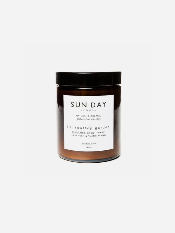 Sun.day of London Luxury Vegan Candle | Rooftop Garden 180ml Midi - 180ml Candle