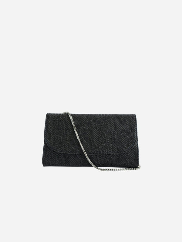 Svala Didi Vegan Leather Clutch | Black