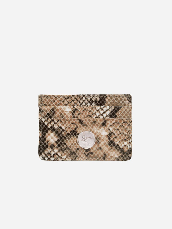 Svala Mia Vegan Leather Card Case | Python