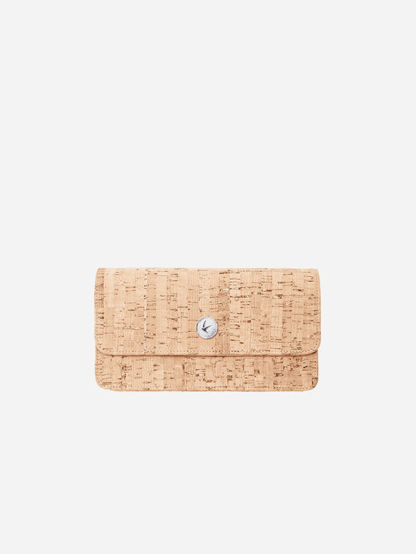 Svala Sara Chain Wallet Purse | Natural Cork