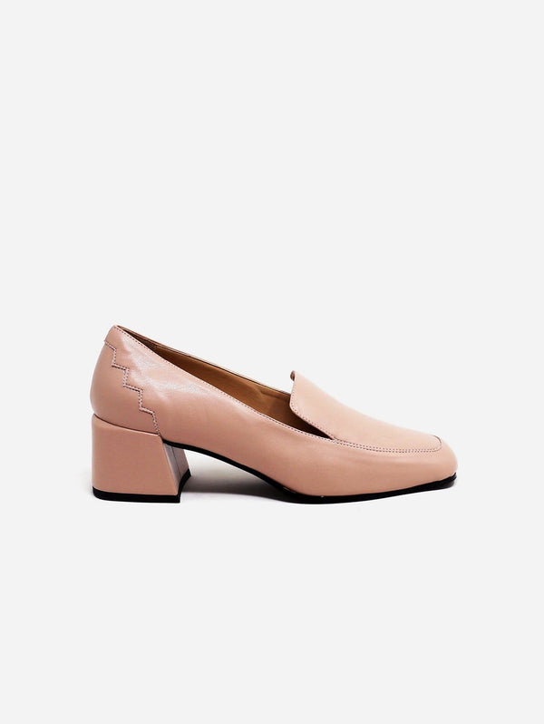 Sylven New York Marlene Recycled Fiber Vegan Nappa Leather Loafer | Blush