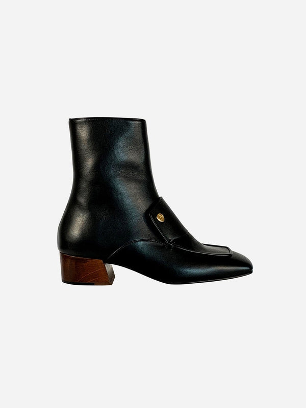 Taylor + Thomas Edie Vegan Leather Boots | Black