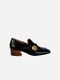 Taylor + Thomas Jane Vegan Leather Loafer | Black
