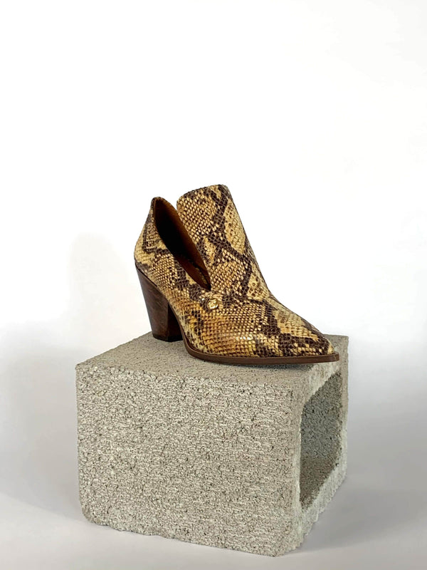 Taylor + Thomas Marianne Vegan Leather Court Shoe | Golden Python
