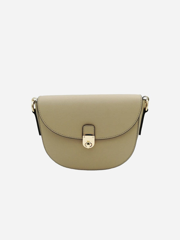Thalie Florine Desserto® Cactus Vegan Leather Small Crossbody Bag | Beige