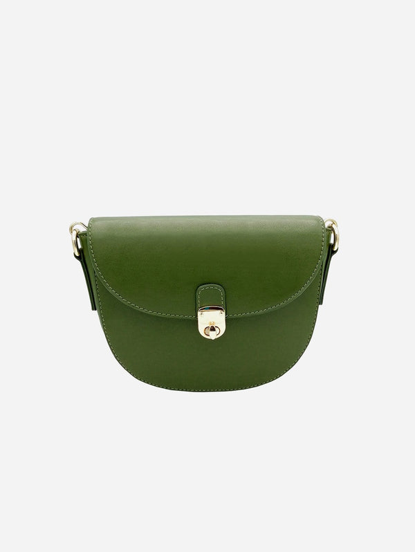 Thalie Florine Desserto® Cactus Vegan Leather Small Crossbody Bag | Green