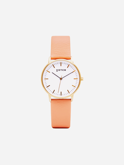 Votch Gold & Coral Vegan Watch | Moment