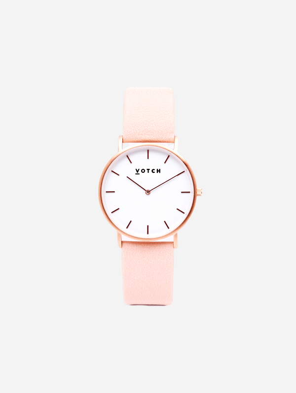 Votch Rose Gold & Pink Vegan Watch | Classic