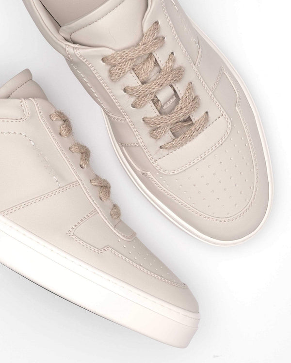 yatay IRORI Vegan Leather Trainer | Driftwood Beige