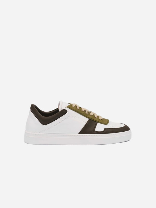 yatay IRORI Vegan Leather Trainer | Woodland