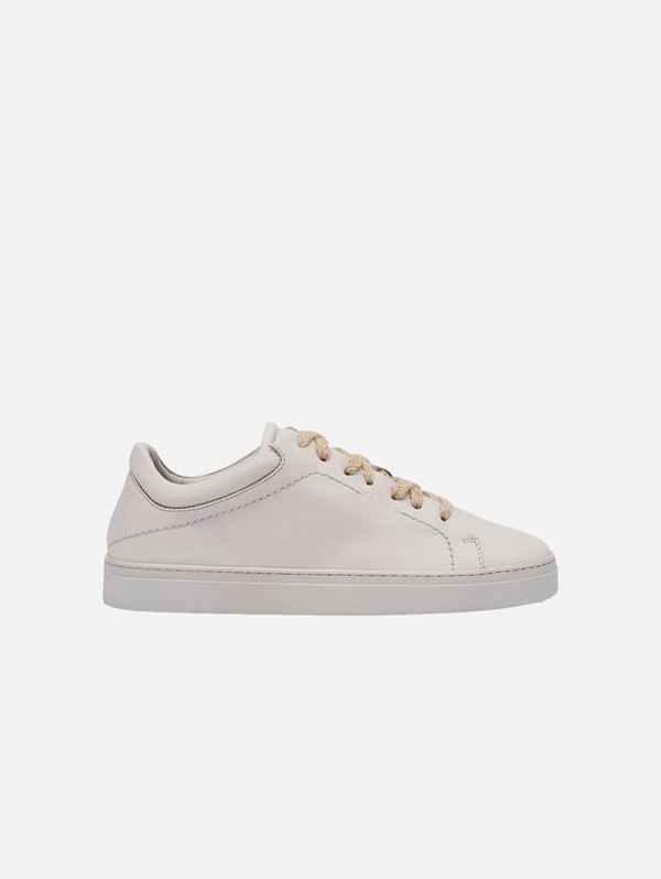 yatay Neven Vegan Leather Low-Top Trainer | Edelweiss Grey