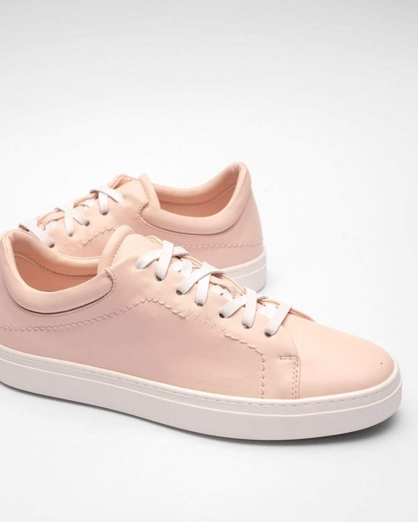 yatay Neven Vegan Leather Low-Top Trainer | Himalayan Pink