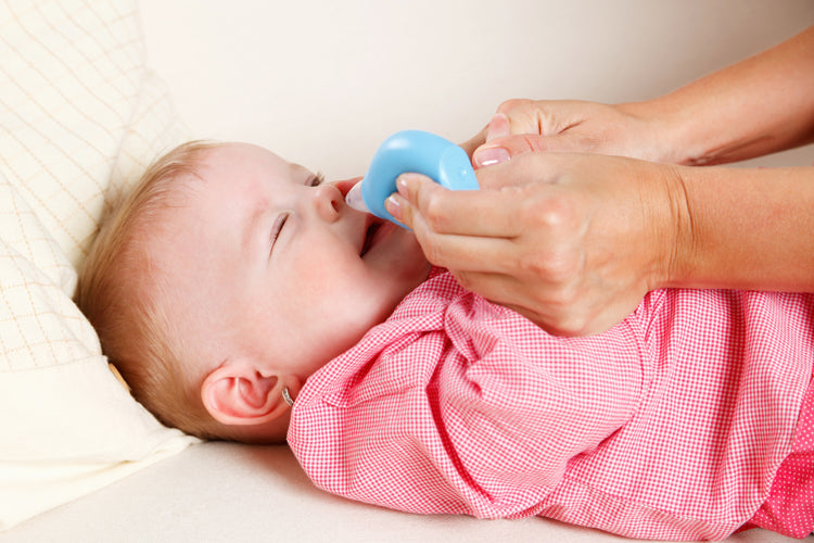 How to treat your baby's stuffy nose
