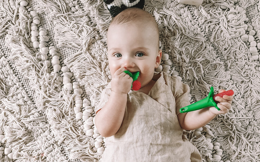 Is baby teething? How to help a teething baby