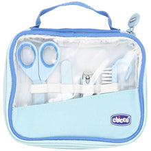 Load image into Gallery viewer, Chicco Happy Hands Manicure Set Blue