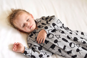 Sleep Hugs Swaddle - Geo Jumble