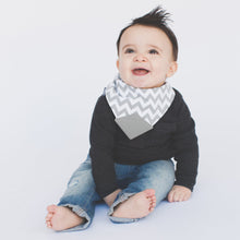 Load image into Gallery viewer, Bandana Teether Bib - Chevron