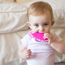 Load image into Gallery viewer, Bandana Teether Bib - Love