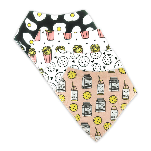 Bandana Bibs 4 Pack - Breakkie